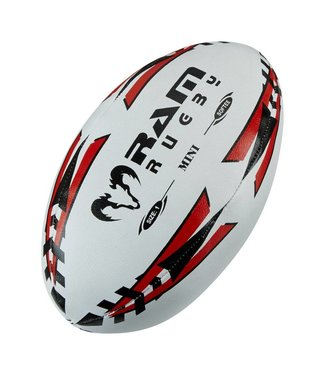 RAM Rugby Mini Rugbybal Softee, 15 cm (maat 1)