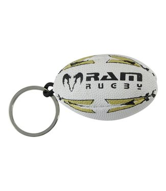 RAM Rugby Rugby bal sleutelhanger, maat 0 (6cm)