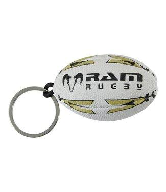 RAM Rugby Rugbyball-Schlüsselanhänger