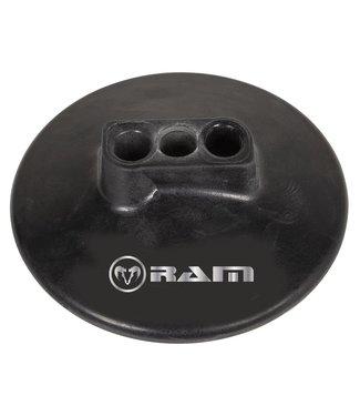 RAM Rugby 3-Loch-Gummifuß für die 2-teilige Pole