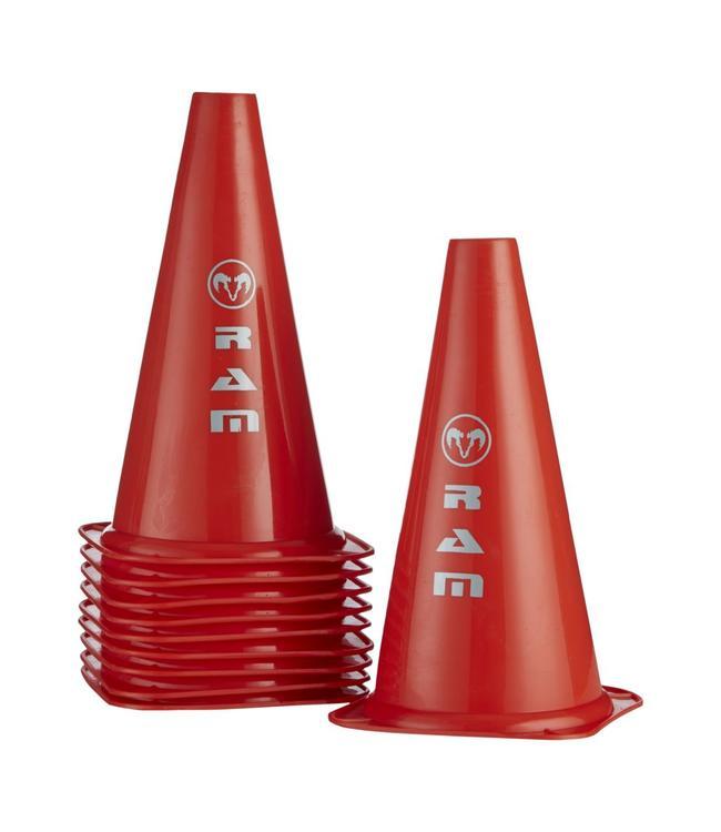 RAM Rugby 10 Markierungs-Hüte, je 30cm hoch, rugby