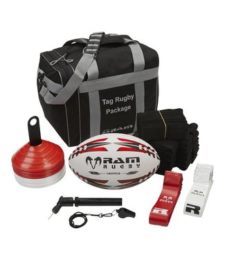 RAM Rugby Tag Rugby Compleet Pakket in tas
