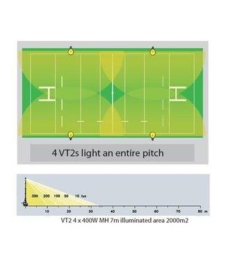 RAM Rugby VT2 - 7M - Mobiele Verlichting - GEBRUIKT