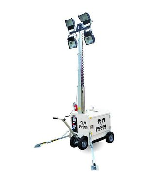 RAM Rugby Towerlight MT-1 Mobile Floodlights, hoge lichtmast