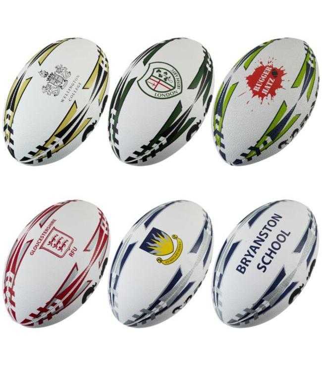 RAM Rugby Ram Rugbybälle mit Sonderaufdruck, Ihrem Logo!
