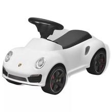 Loopauto Porsche 911 wit