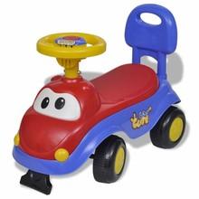 Loopauto (blauw-rood)