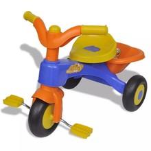 Driewieler smart (oranje-blauw)
