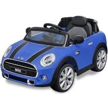 elektrische speelgoedauto Mini Cooper S blauw