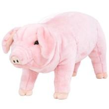 Speelgoedvarken staand XXL pluche roze