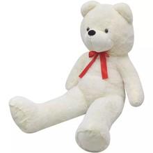 Teddybeer XXL 100 cm zacht pluche wit