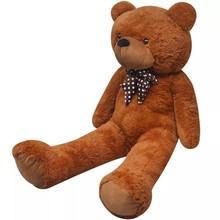 Teddybeer XXL 100 cm zacht pluche bruin