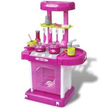 Speelkeuken met licht/geluidseffecten roze