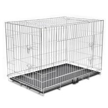 Inklapbare honden bench metaal XXL