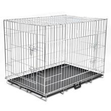 Opvouwbare metalen hondenbench XL