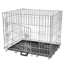 Inklapbare honden bench metaal L