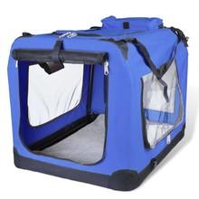 Huisdierendrager vouwbaar blauw maat XL