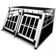 Auto Bench voor honden S dubbeldeurs
