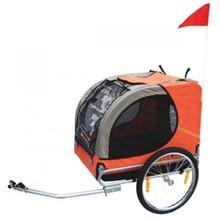 Honden fietskar Lassie oranje