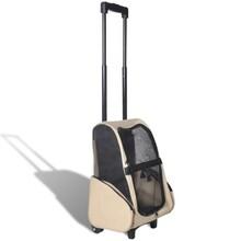 Inklapbare huidieren trolley (beige)