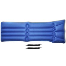 Luchtmatras / luchtbed Blauw-Rood 178x69 cm