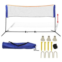 Badminton net met shuttles 300x155 cm