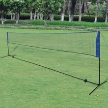 Badminton net met shuttles 600 x 155 cm