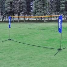 Net 3 in 1 Combi (badminton, tennis, volley) 500 x 155 cm + toebehoren