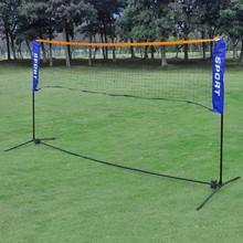 Badminton/volleybalnet 300 x 155 cm + toebehoren