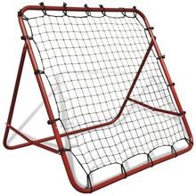 Verstelbare voetbal kickback rebounder 100 x 100 cm
