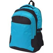 Rugzak voor school 40 L zwart en blauw
