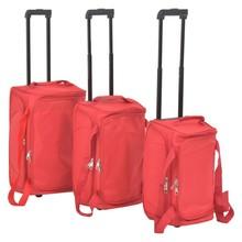 Bagageset rood 3-delig