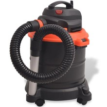 Asstofzuiger zwart en oranje 1200 W 20 L