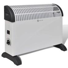 Elektrische Radiator 2000 W wit