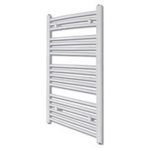Badkamer radiator/handdoekenrek gebogen 600x1160 mm 600 W