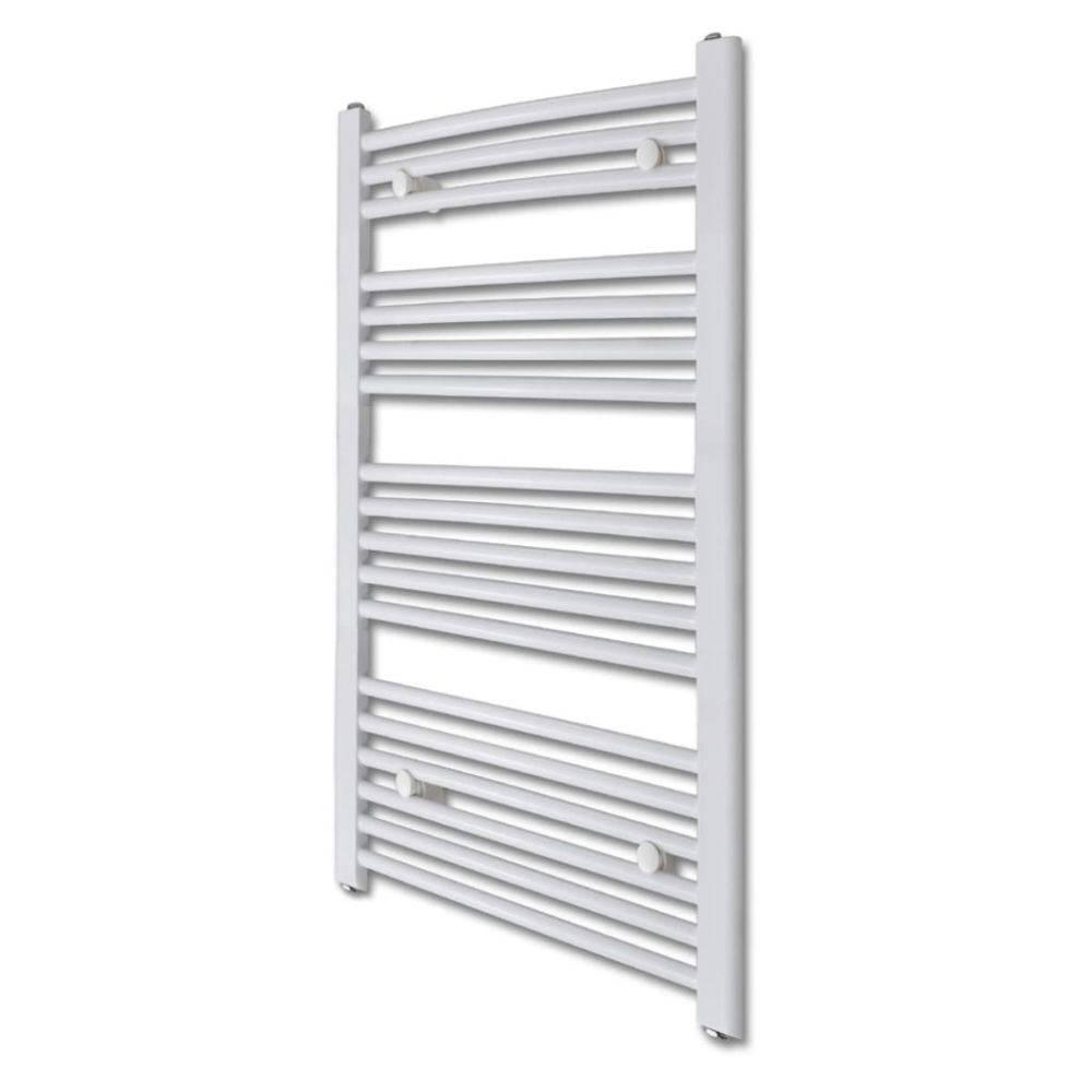 Badkamer radiator/handdoekenrek gebogen 600x1160 mm 600 W - Kijkalles