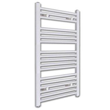 Badkamer radiator/handdoekenrek recht 600x1160 mm 600 W - Kijkalles