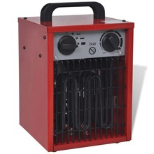 Industriële ventilatorkachel draagbaar 2 kW 100 m³/u