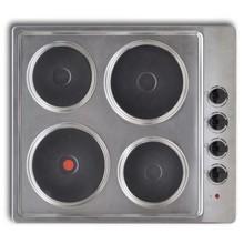 Elektrische RVS inbouw kookplaat 4-delig