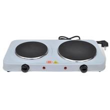 Elektrische kookplaat 2500W 2-pits