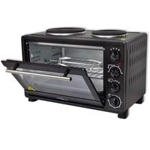 Mini oven met accessoires (zwart / 30L 3100W)