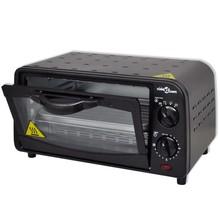 Mini oven met accessoires (zwart / 9L 800W)