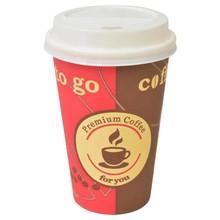 Wegwerp koffiebekers met deksels 12 oz (350 ml) 1000 st