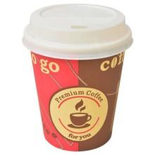 Wegwerp koffiebekers met deksels 8 oz 1000 st