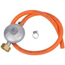 Gas regulator met slang