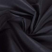 Microsatijnen stof 1,45 x 20 m zwart