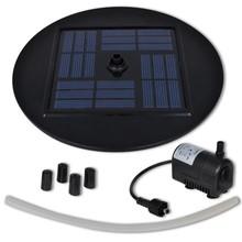 Fontein op zonne-energie 1,5 w (ronde basis)