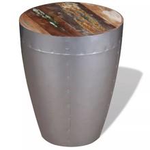 Aviator kruk massief gerecycled hout 36x44 cm