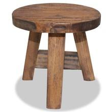 Kruk 20x20x23 cm massief gerecycled hout