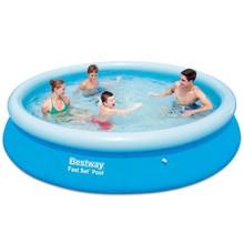 Bestway zwembad rond opblaasbaar 366 x 76 cm 57273